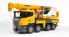Bruder 03570 SCANIA R-Series Liebherr Crane truck Light & Sound Scale 1:16