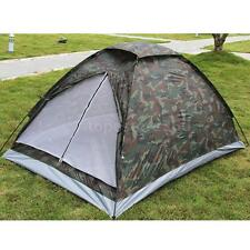 Fishing / Camping 2 Man Waterproof Two Person Dome Tent Camo / camouflage