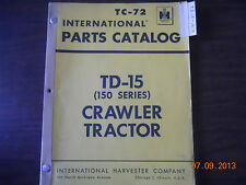 International Parts Catalog TD-15 (150 Series) Crawler Tractor