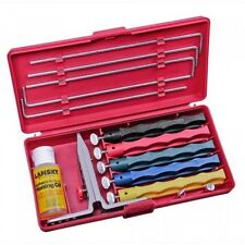 Lansky Deluxe 5-Stone Sharpening System, New, Free Shipping