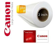 "3 ROTOLI Canon SATINATO 190g / m ² Photo Inkjet Carta 24 "" 610mm x 30mtr 2"" Core ijm262"