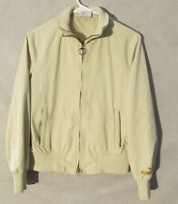 W5951 Puma Mens Small Beige Full Zip Italia Jacket with Pockets