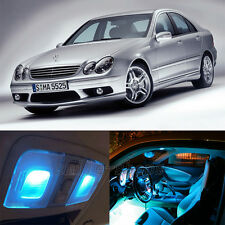 15X Ice Blue Canbus LED Interior Light Kit for Mercedes Benz C-class W203 00-07