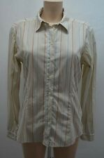 AIGLE CHEMISIER .  BEIGE TAILLE 42 T42 XL   SHIRT CAMISA BLUSE BLOUSE