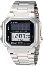 CAISIO AL190WD-1A MEN SOLAR STAINLESS STEEL DIGITAL WATCH