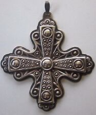 1972 Sterling Silver Reed and Barton Christmas Cross Ornament