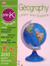 DK Workbooks: Geography Learn and Explore, Preschool (pb) NEW
