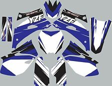 Graphic Kit for 2006-2009 YZ450f YZ 450f YZF 450 shrouds fender plastic decals