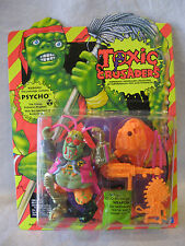 1991 Playmates PSYCHO Toxic Crusaders action figure MOC cartoon monster toy mip