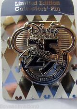 Disney Store 25th Anniversary Large Pin