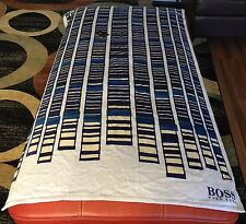 Hugo Boss Men's Beach Towel, Cotton, NWT, Large Authentic