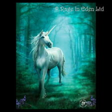*FOREST UNICORN* Goth Fantasy Art 3D Postcard By Anne Stokes (15x10cm)