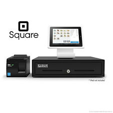 SQUARE POS BUNDLE - Stand for iPad 4, USB Receipt Printer and Cash Drawer