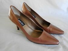 """VANELi Classic Pumps Copper Brown 3"""" High Heel Womes Size 8 Narrow Pointed Toe"""