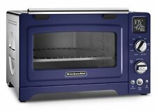 KitchenAid KCO275BU Convection 1800-watt Digital Countertop Oven, 12-Inch, Blue