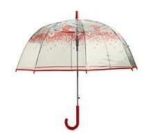 VERA BRADLEY Auto Open Bubble Umbrella PAISLEY IN PARADISE Travel Rainy Day FUN!