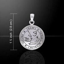 Archangel Cassiel Talisman .925 Sterling SILVER Sigil of Cassiel Angelic Pendant