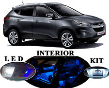 LED Package - Interior + License + Vanity + Reverse for Hyundai Tucson (12 Pcs)