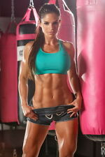 "040 Michelle Lewin - Sexy Model Bodybuilder Fitness Girl 14""x21"" Poster"