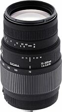 Sigma 70-300mm F/4.0-5.6 DG Lens For Canon DSLR zoom lens/telephoto lens