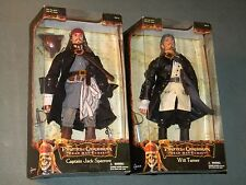 "Pirates of the Caribbean Captain Jack Sparrow Will Turner 12"" Figures, NEW"