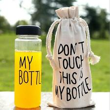 Bottle Bags Case Cover Sport Water Bag Sack Portable Fit for Bottle 500ML