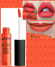 NYX - SOFT MATTE LIP CREAM LIQUID LIPSTICK - SAN JUAN - BRIGHT PEACHY ORANGE