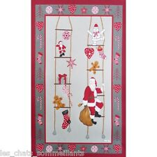 BEAUVILLE FRANCE, PAPA NOEL (FATHER CHRISTMAS) FRENCH KITCHEN / TEA TOWEL, NEW