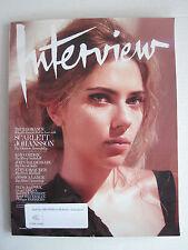 Interview Magazine V43N8 - Scarlett Johansson True Romance - October 2013