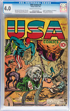 USA Comics #1 (Timely, 1941) CGC VG 4.0 Classic cover