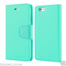 Genuine MERCURY Goospery Mint Green Leather Flip Case For iPhone 6/6s PLUS 5.5""