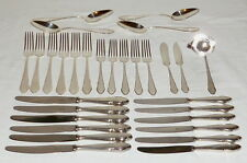 Old WMF 2900 Silver cutlery 30 Pieces 90s Dining Breakfast