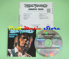 CD NEIL YOUNG Acoustic token 1992 italy GENUINE PIG TGP CD 113(Xs2) no lp mc dvd
