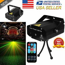 R&G Super Mini Projector DJ Disco LED Light Stage Party Laser Lighting Show US