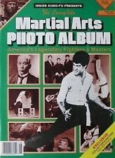6/87 MARTIAL ARTS PHOTO ALBUM BRUCE LEE ED PARKER BLACK BELT KARATE KUNG FU