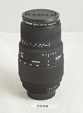 70-300mm f/4-5.6 Sigma DG Telephoto Zoom Lens for Nikon AF dSLR ✺229