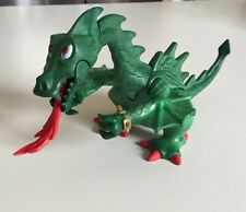 Playmobil 1995 Green Dragon Breathing Fire Geobra