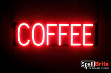 SpellBrite Ultra-Bright COFFEE Sign Neon look LED performance