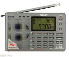 TECSUN PL-380 (Grey Color) DSP PLL World Band Radio       ENGLISH VERSION