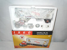 Texaco Colwell Oil Company  1960 Mack Truck With Van Trailer  1/34th Scale