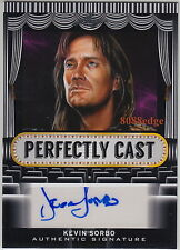 2013 LEAF POP CENTURY PERFECTLY CAST AUTO: KEVIN SORBO #11/25 AUTOGRAPH HERCULES