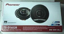 """Pioneer TS-D1602R 6.5"""" 520 Watt 2-way D-Series Car Audio Speakers"""