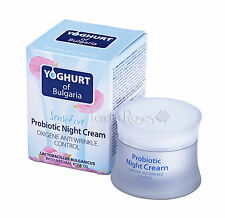 YOGHURT OF BULGARIA PROBIOTIC NIGHT CREAM WITH ROSE OIL, YOGHURT- SENSITIVE SKIN