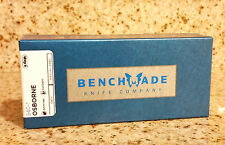 NEW Benchmade 940-1 Osborne CPM-S90V Blade Carbon Fiber Handle, Plain Edge Knife