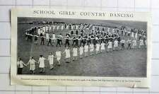 1928 Processional Movement Schoolgirls Country Dancing Ribston Hall, Spa Cricket