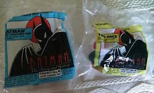 McDonald's Happy Meal Toys-1993 Batman The Animated Series-Batman & Two-Face*NEW
