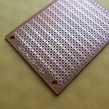 10x pcb 5x7cm 2er holen Streifenraster Veroboard Lochraster Platine Leiterplatte