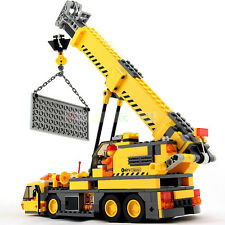 Enlighten Plastic Building Blocks Crane Trucks Kids Children Block City