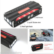 12V 4USB Portable 68800mAh Vehicle Car Jump Starter Battery Power Bank Charger