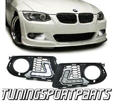 FRONT RUNNING LED LIGHTS FOR BMW E92 from 2010 M-TECH LIGHT GRILL DAYLIGHTS NEW